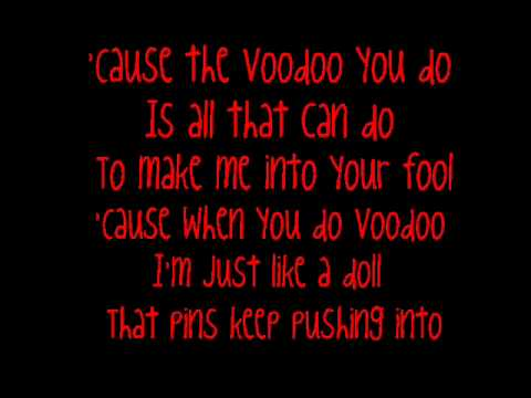 Adam Lambert - Voodoo (lyrics :D)