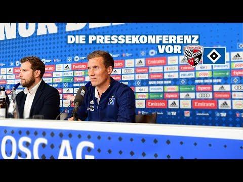 RELIVE: Die Pressekonferenz vor dem Auswärtsspiel gegen den FC Ingolstadt 04