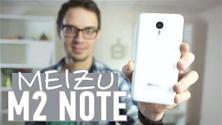 видео Тест-обзор смартфона Meizu M2 Note