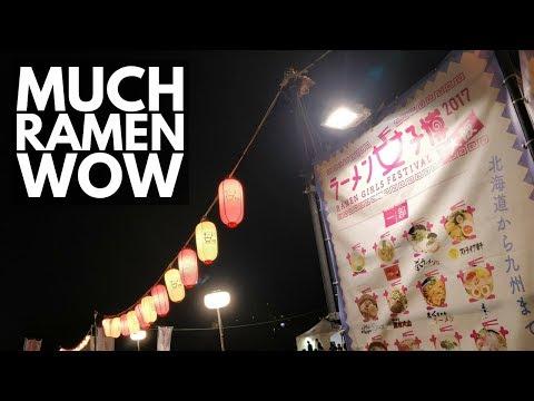Ramen Girls Festival Osaka | Japan Vlog 30 | Lin Nyunt