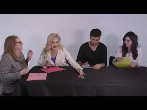 Guidance stars Olivia 'Chachi' Gonzales, Ryan Rottman and Erica Dasher  and playi