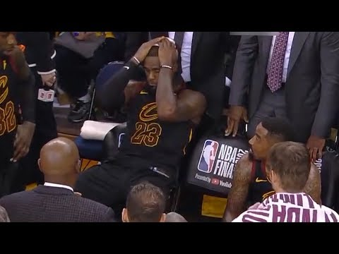 UNSEEN Angle: Lebron James DEMORALIZED After JR Smith Mistake
