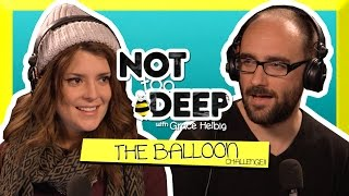 THE BALLOON CHALLENGE (ft VSAUCE) // Grace Helbig Thumbnail