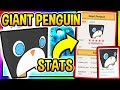 *STATS* HOW RARE IS THE GIANT PENGUIN IN PET SIMULATOR Roblox