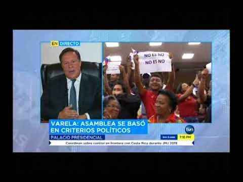 TVN presidente Juan Carlos Varela   designaciones de magistradas