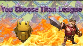 Clash of Clans You Choose Titan League: Clash of Clans FSUATL Challenge Dragons and Jump