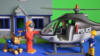 Video New Fireman Sam Episode Paw Patrol Chase Tom Thomas Police Helicopter Animation download MP3, 3GP, MP4, WEBM, AVI, FLV Januari 2018