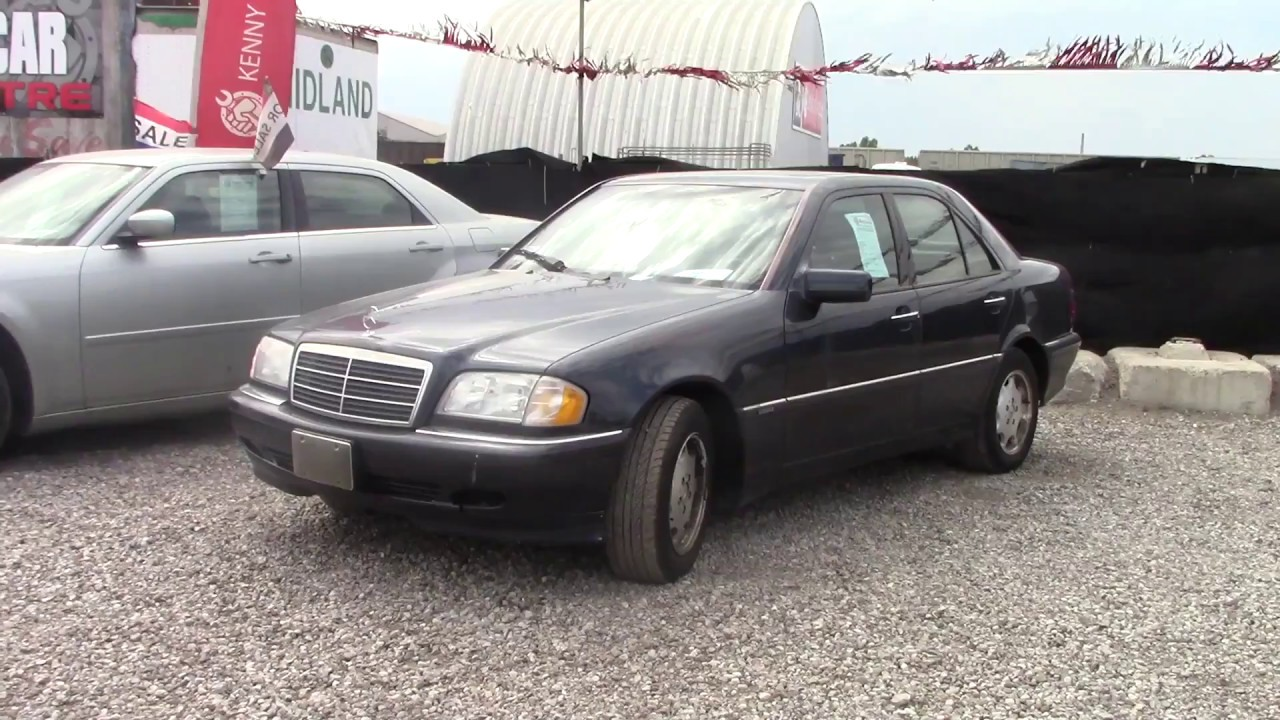 Mercedes C230 Back Lot Junk Yard Walk Around Youtube