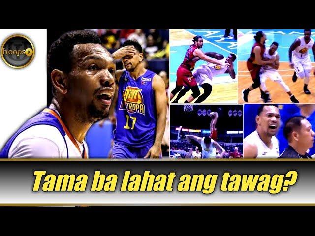 Tama ba lahat ng mga foul na tinawag sa game 6 ng PBA Finals?