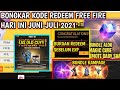 BONGKAR ‼ KODE REDEEM FREE FIRE TERBARU HARI INI 20 Juni 2021
