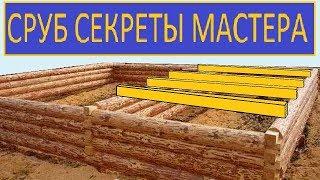 видео Дома из бруса и бревна - строительство и виды материала