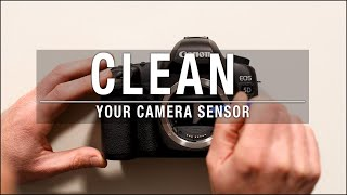 How to Clean Your Camera Sensor