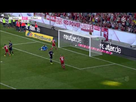 TELEKOM-CUP 2013   FC Bayern - Hamburg 4-0   2nd Half HD (Include Post-Match)
