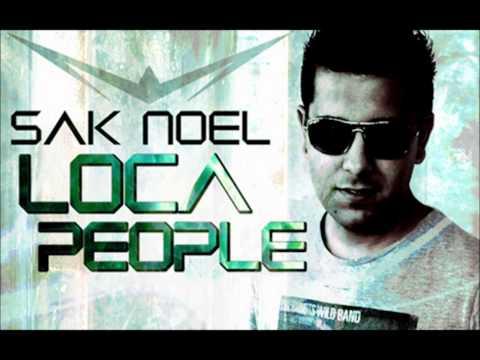 "Music video Sak Noel - Loca People (What the F**k!"") (Radio Edit)"