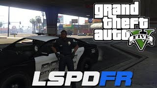 GTA V - LSPDFR 0.1e - Day 1 - Play as a Cop!