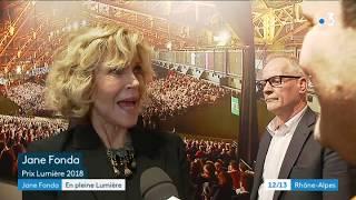 Festival Lumière : Jane Fonda sur les pas du premier film à Lyon