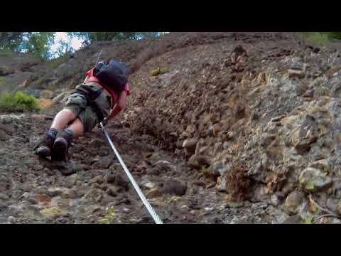 Klettersteig Känzele : Klettersteig känzele neu variante bregenz vorarlberg bodensee