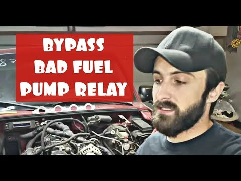 HOW TO BYPASS BAD FUEL PUMP RELAY ON FORD RANGER, EXPLORER