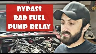 HOW TO BYPASS BAD FUEL PUMP RELAY ON FORD RANGER, EXPLORER, MOUNTAINEER!!! BAD FUEL PUMP RELAY!!!