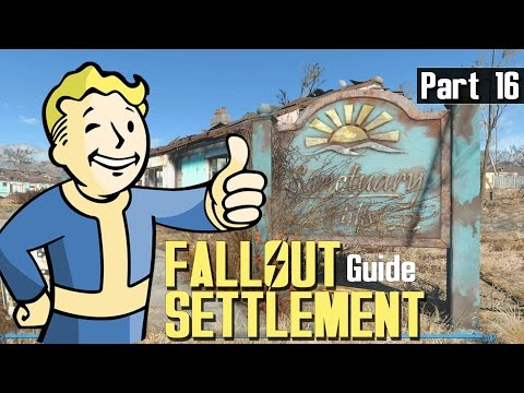 Fallout 4 - SETTLEMENT BUILD GUIDE 16 - Automatic Light Problems