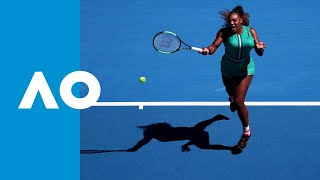 Serena Williams takes the game (3R) | Australian Open 2019 Video