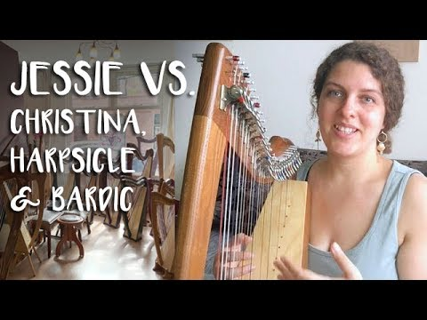 Review Lewis Creek Jessie (Nightingale) vs. Other Travel Harps (Therapy Harps)