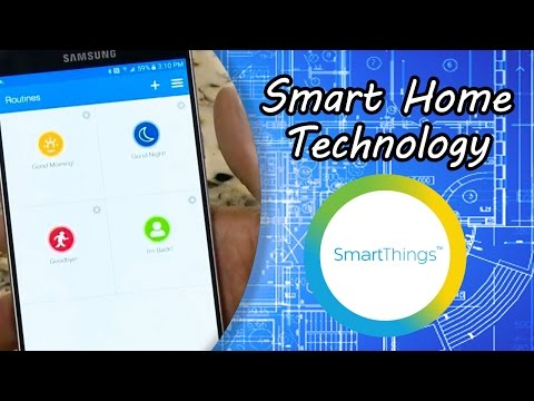 Smart Home Technology with Samsung SmartThings