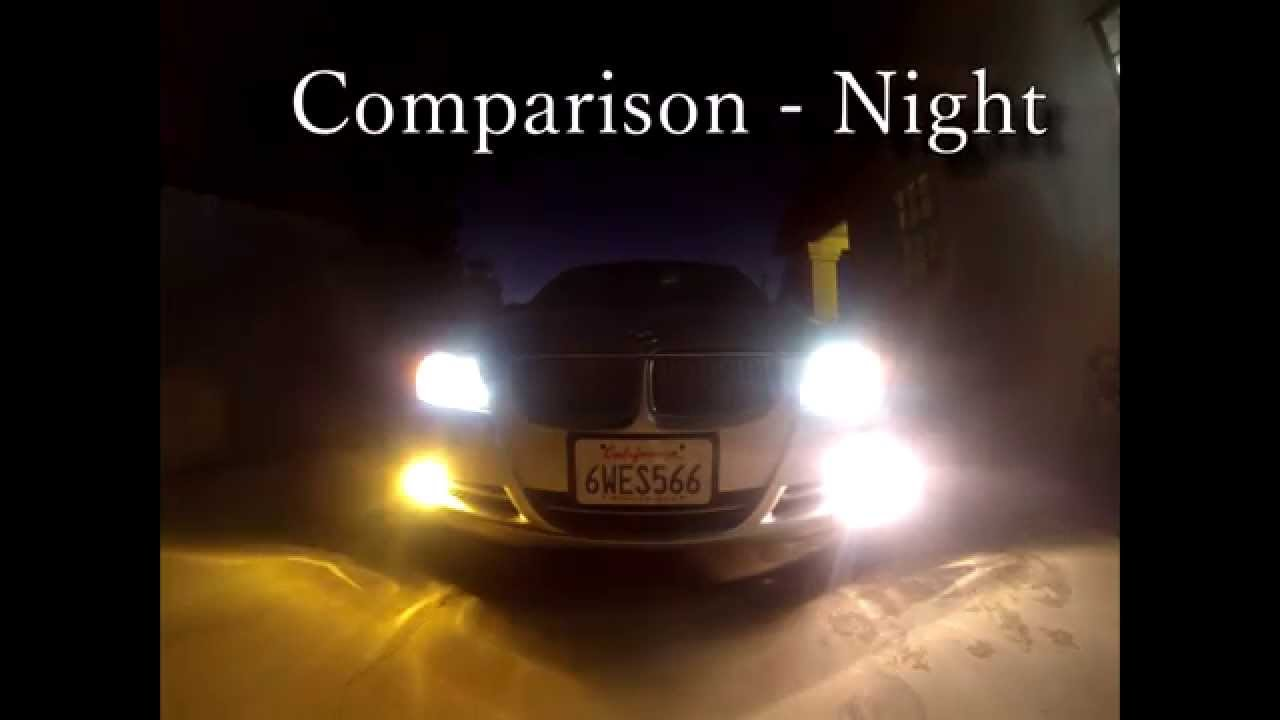 Nokya Hyper Yellow Fog Lights Unboxing Install Review
