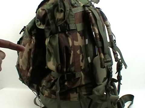 part 1 huge internal frame military field patrol pack used as a camping hiking backpack - Military Rucksack With Frame