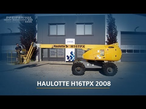 Haulotte H16TPX 2008