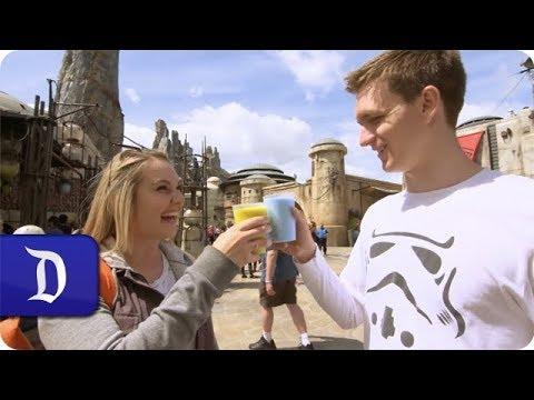 VIDEO: Travelers Rave Over Eats at <em>Star Wars</em>: Galaxy's Edge at Disneyland Resort