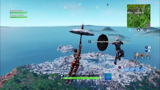 Bug dance while flying fortnite Battle Royale