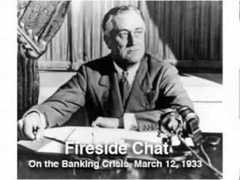 FDR's first fireside chat: the banking crisis