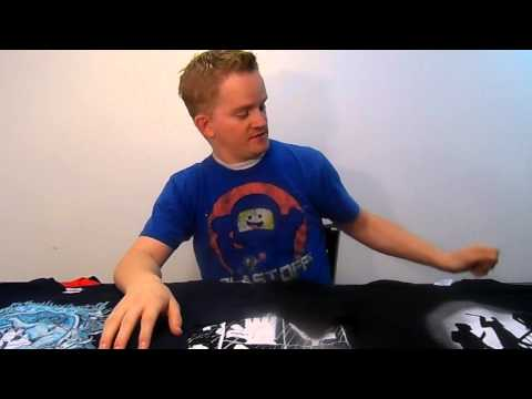 ShirtPunch Review of shirts that I ordered October 2014
