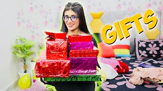 My Birthday GIFTS UNBOXING | Samreen Ali Vlogs