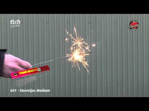Wolff Vuurwerk: 601 Sterretjes Medium