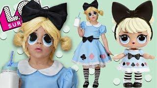 Косплей куклы Лол Алиса (Curious Q.T.) Куклы Лол в реальной жизни!