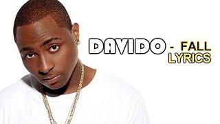 Davido Fall lyrics