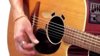 Beginner Strumming Pattern 2 - Slow Rock Strum Guitar Lesson