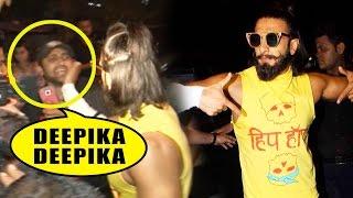 "A Fan Teases Ranveer Singh As ""Deepika Deepika"", What Happens Next Will SHOCK You"