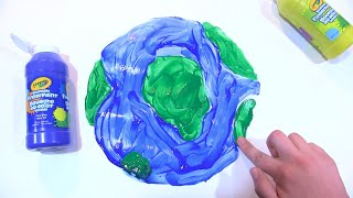 happy earth day from crayola