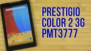 Распаковка Prestigio MultiPad Color 2 3G Black (PMT3777-3G-C)