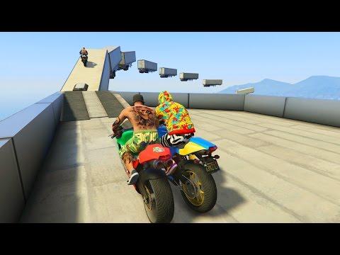 OJALA TE CAIGAS!!! - CARRERA GTA V ONLINE - GTA 5 ONLINE
