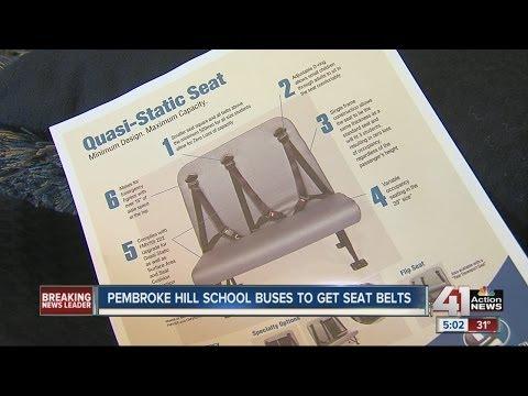 Pembroke Hill school buses to get seat belts