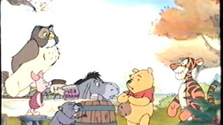 Winnie the Pooh - Seasons of Giving (1999) Trailer (VHS Capture)