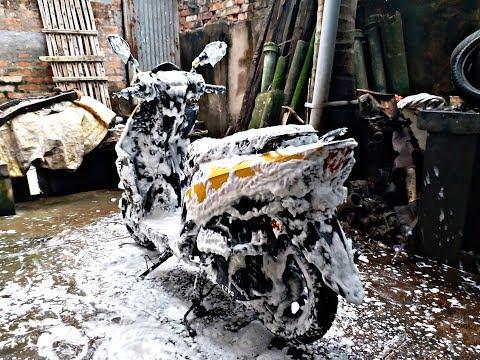 tvs ntorq 125 washing day