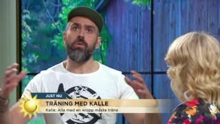 """Kalle Zackari Wahlström: """"Lägg dig på mattan bara"""" - Nyhetsmorgon (TV4)"""