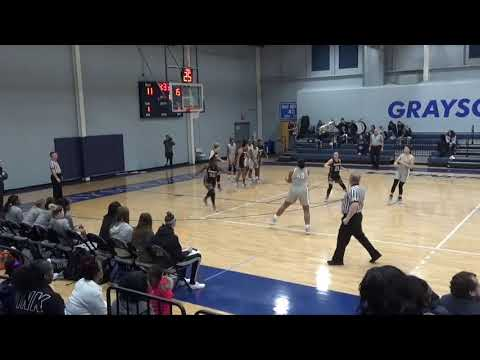 1-19-19 Weatherford College vs Grayson College Women's Basketball Game