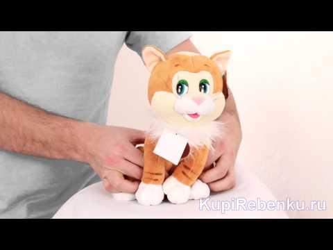 Интерактивная игрушка кот Рыжий