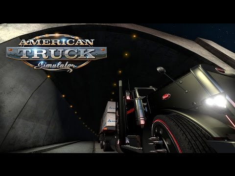 American Truck Simulator: Secret tunnel from Florida to New Orleans